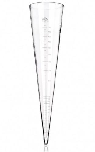 Воронка Имхоффа (конус седиментационный), 1000 мл, немецкая шкала, закрытый тип