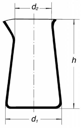 Стакан низкий Philips, с носиком, 1000 мл