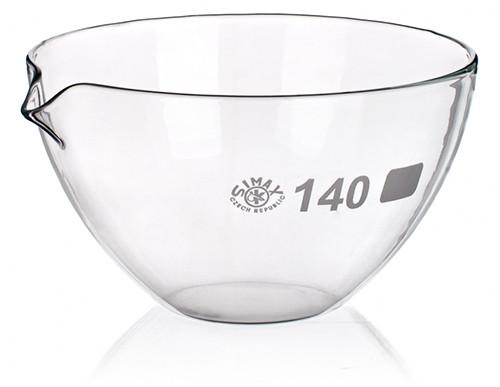 Чашка выпарная, 600 мл, плоскодонная