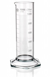 Цилиндр низкий, класс 2, 250 мл, с носиком