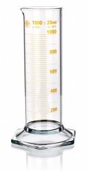 Цилиндр низкий, класс 2, 250 мл, с носиком, коричневая шкала