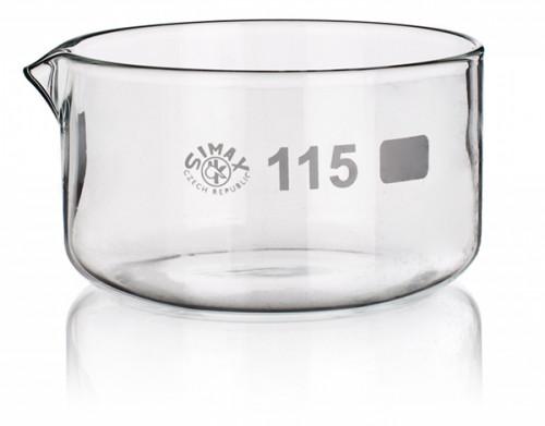 Чашка кристаллизационная, с носиком, 100 мл