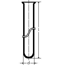 Пробирка химическая, 16*150