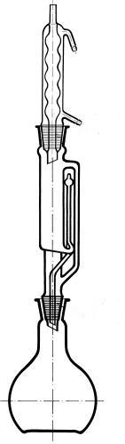 Экстрактор Сокслета с холодильником Аллина, 100 мл