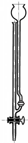 Микробюретка Банга, 1 мл, с прямым краном