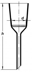 Воронка Шотта, S1/210*575