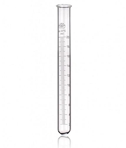 Пробирка мерная с рантом, 25 мл