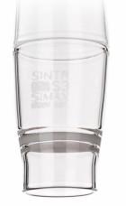 Тигель фильтрующий, 55 мл. S3/40*65, конической формы, тип Гуча, с пластиной