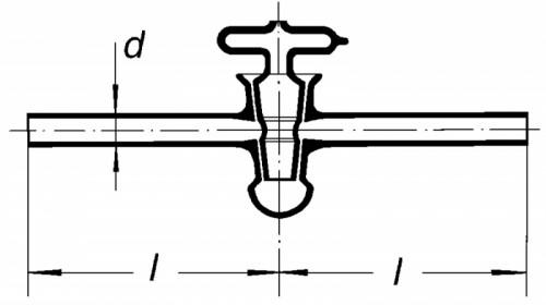 Кран вакуумный 6 мм