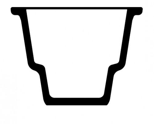 Эксикатор верхним диаметром 94 мм, (основание)