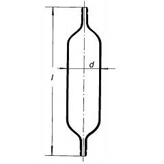 Газовая пипетка, 150 мл