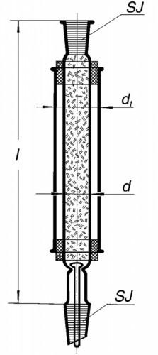 Колонка дистилляционная Гемпеля, 750 мм 29/32