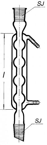 Холодильник Аллина обратный, 160 мм, 4-шаровой 14/23