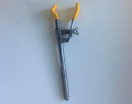 Держатель без скобы, длина 196 мм, пластиковое покрытие