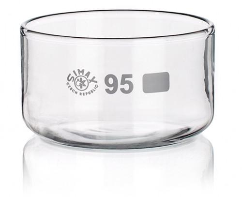 Чашка кристаллизационная, 90 мл, без носика