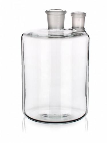 Бутыль Вульфа с 2 горловинами, 2000 мл, без крана