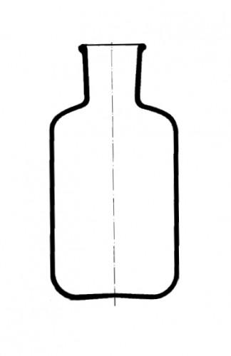 Бутыль-резервуар для впрыскивания серы, 1000 мл