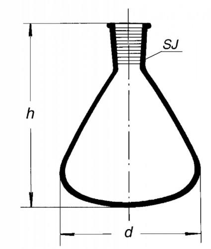 Микроколба, 10 мл