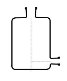 Бутыль Вульфа, 1000 мл, с краном