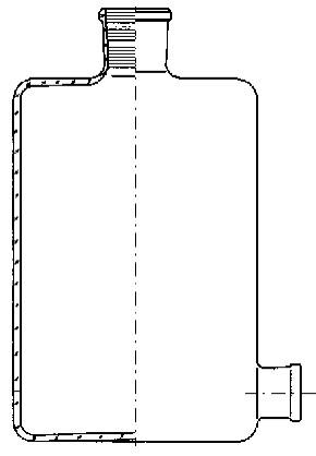 Бутыль Вульфа, 2000 мл, с краном