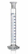 Цилиндр высокий, класс 2, 10 мл, с пластмассовой пробкой