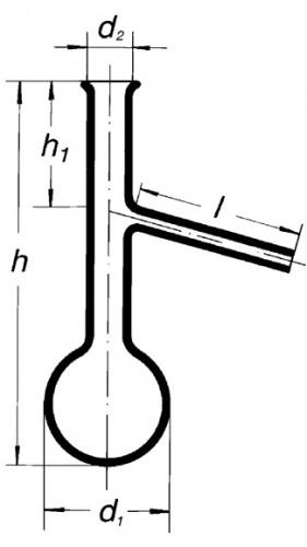 Колба Энглера, 125 мл