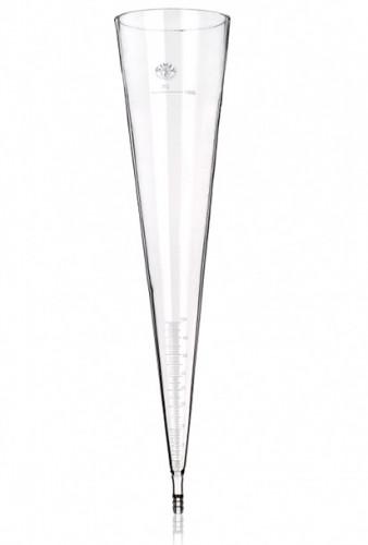 Воронка Имхоффа, 1000 мл, сквозная, чешская шкала