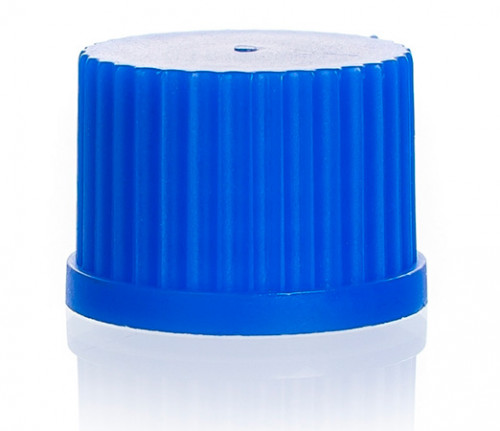 Винтовая крышка, синяя, GL 25