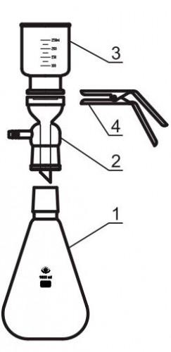 Аппарат для фильтрации, в сборе (комплект)
