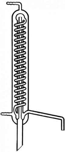 Холодильник вторичной дистиляции, 400 мм