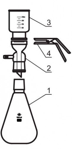 Зажим для съемного фильтра, 58 мм