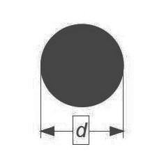 Палочка стеклянная Simax, диаметр 18 мм