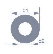 Капиллярная трубка Simax, наружный диаметр 10 мм, внутренний диаметр 2 мм