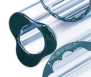 Профильная трубка Simax, трехлепестковая, диаметр наружн. 15 мм, внутр. 7 мм