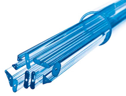 Капиллярная профильная трубка Simax, 20х5,3 мм, внутренний диаметр 1,5 мм