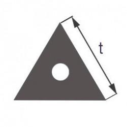 Капиллярная профильная трубка треугольного сечения Simax, длина стороны 11 мм